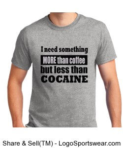 More than coffee Tee Design Zoom
